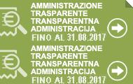 Amministrazione trasparente fino al 31/08/2017