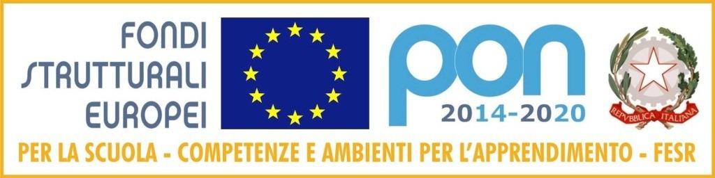 fondi strutturali europei - pon 2014-2020 - progetti della scuola